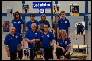 colage badminton